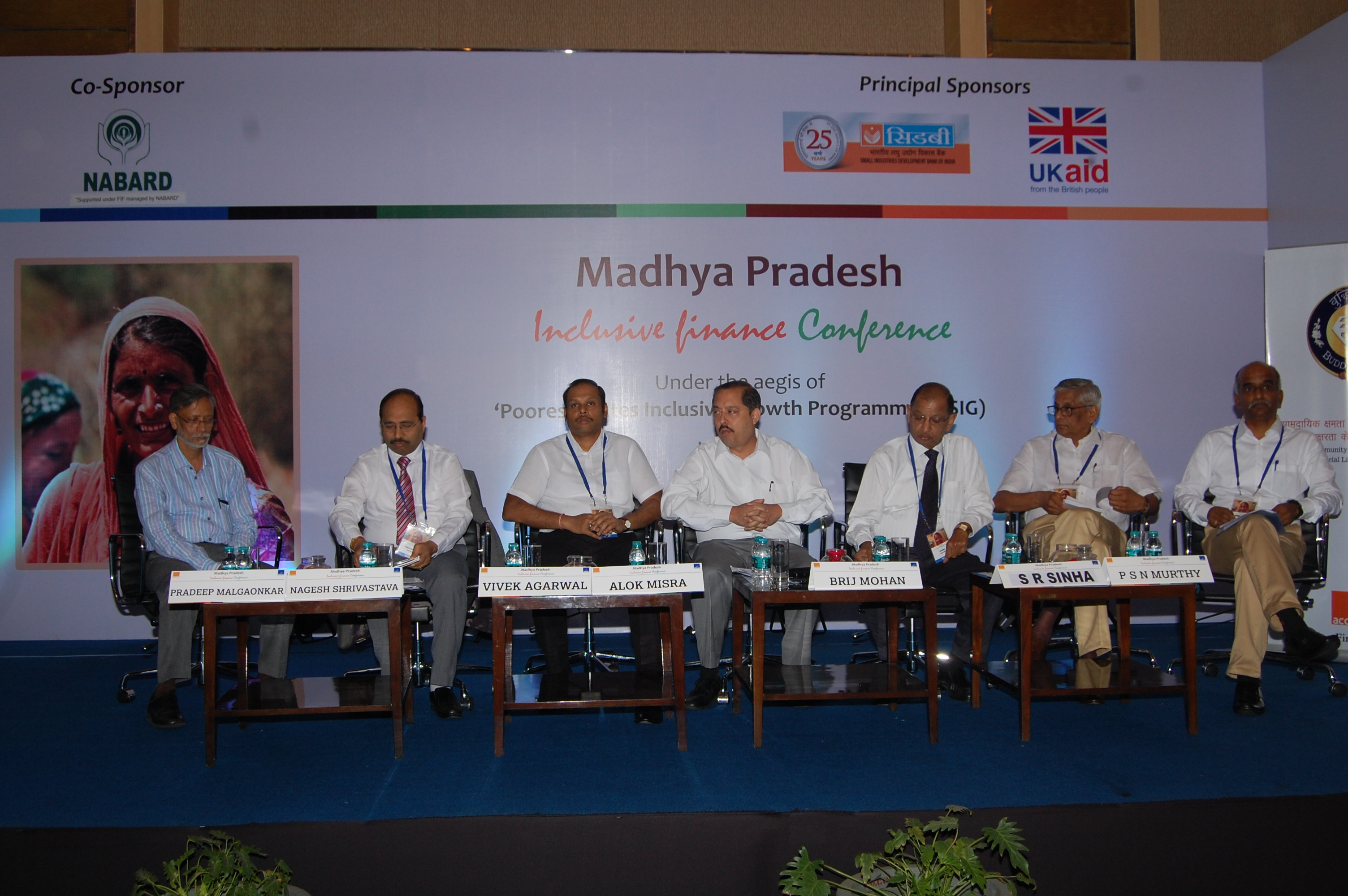 Incusive Finance Conference Held at Madhya Pradesh